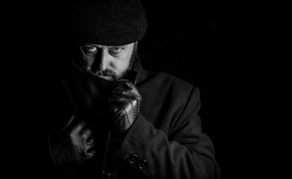Salvatore Black, larp Enuma Elis, fot. Odłamki Chaosu Fotografia